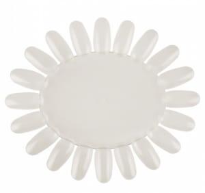 Oval Palette White 20