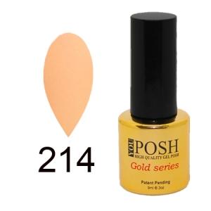 Гель-лак YouPOSH Gold Collection №214, 9 мл