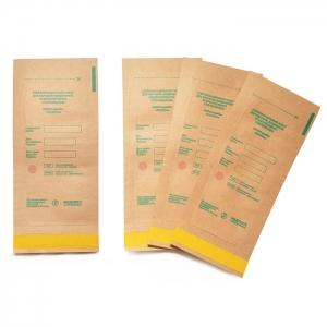 Крафт пакеты для стерилизации инструментов Медтест 75х150 мм (50 шт)