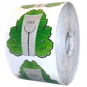 Формы для наращивания ногтей (зеленые) 500 шт.
